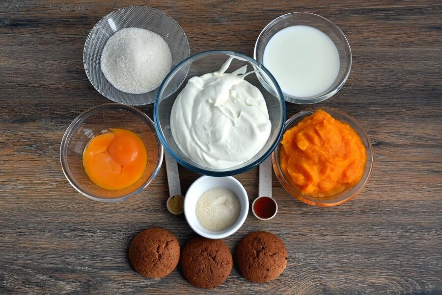 Ingridiens for Ginger Pumpkin Mousse
