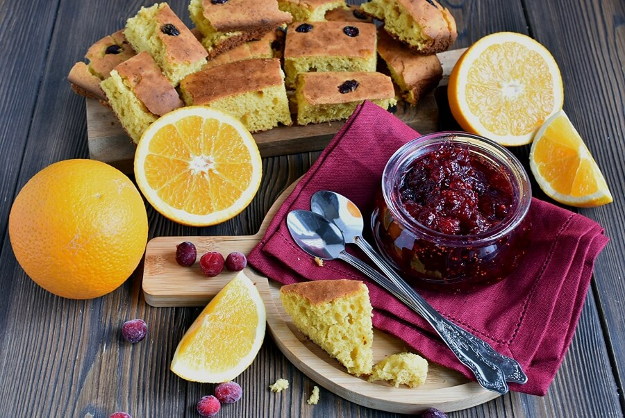 How to serve Gingery Cranberry Sauce