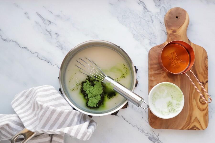 Green Tea Fudge recipe - step 2