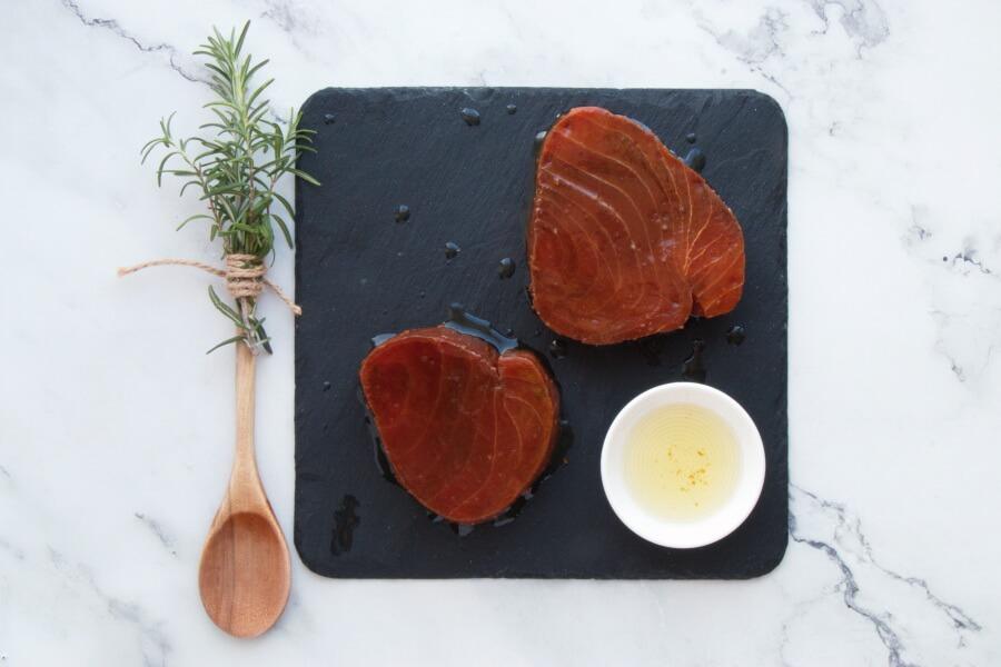 Grilled Tuna Teriyaki recipe - step 4