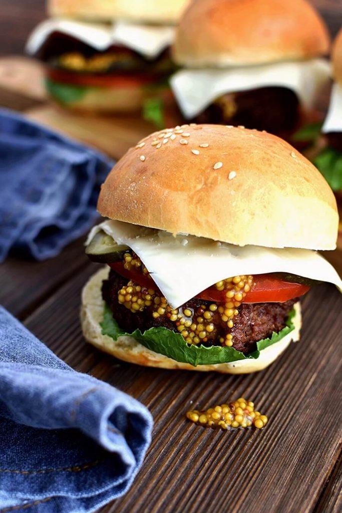 Juicy Oven-Baked Burgers