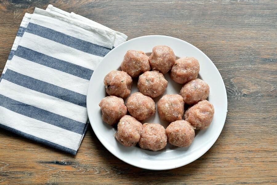 Lemon-Rosemary Turkey Meatballs recipe - step 3