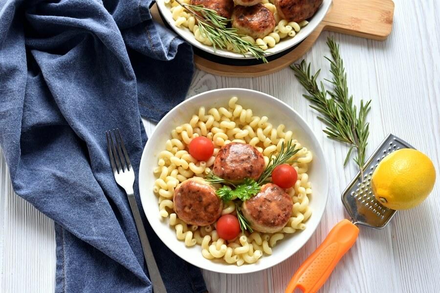 How to serve Lemon-Rosemary Turkey Meatballs