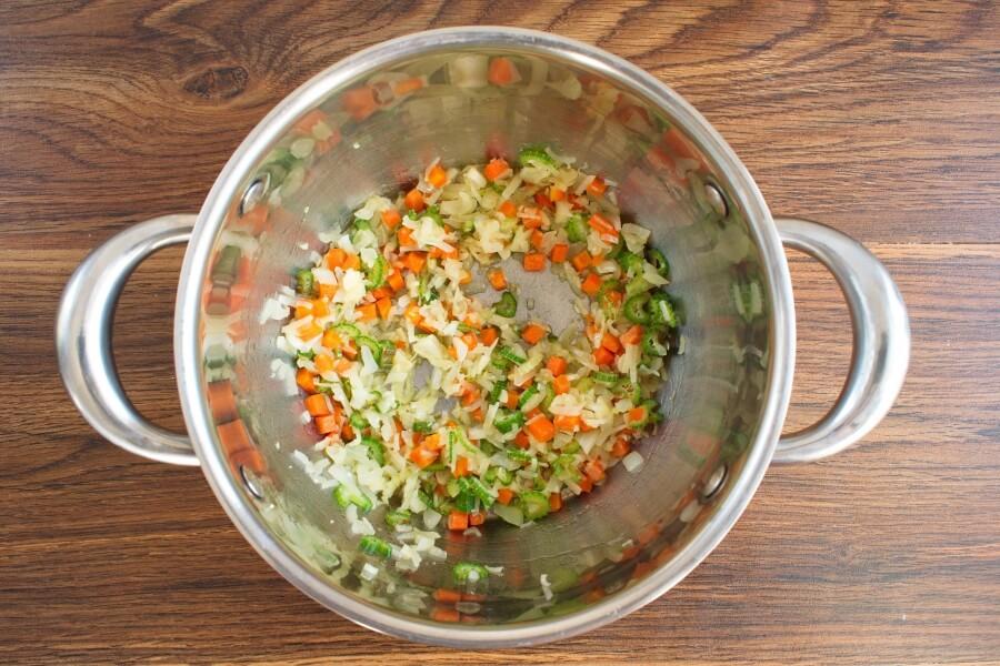 Lentil Soup with Salt Pork recipe - step 1
