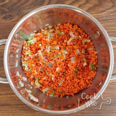 Lentil Soup with Salt Pork recipe - step 2