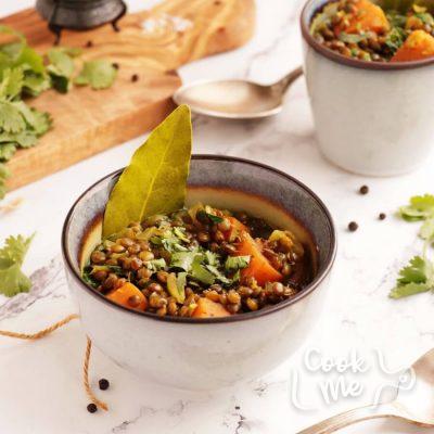 Lentil and Sweet Potato Stew Recipe-Sweet Potato Lentil Stew-Easy Lentil and Sweet Potato Stew