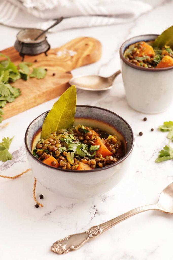 Lentil and Sweet Potato Stew Recipe-Sweet Potato Lentil Stew-Easy Lentil and Sweet Potato Stew