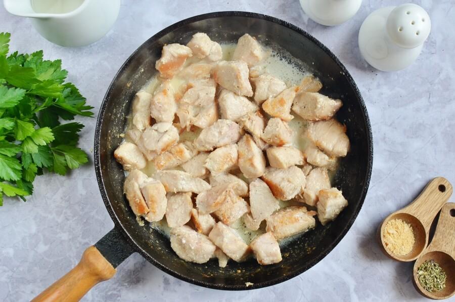 Low Carb Chicken and Cauliflower Casserole recipe - step 3