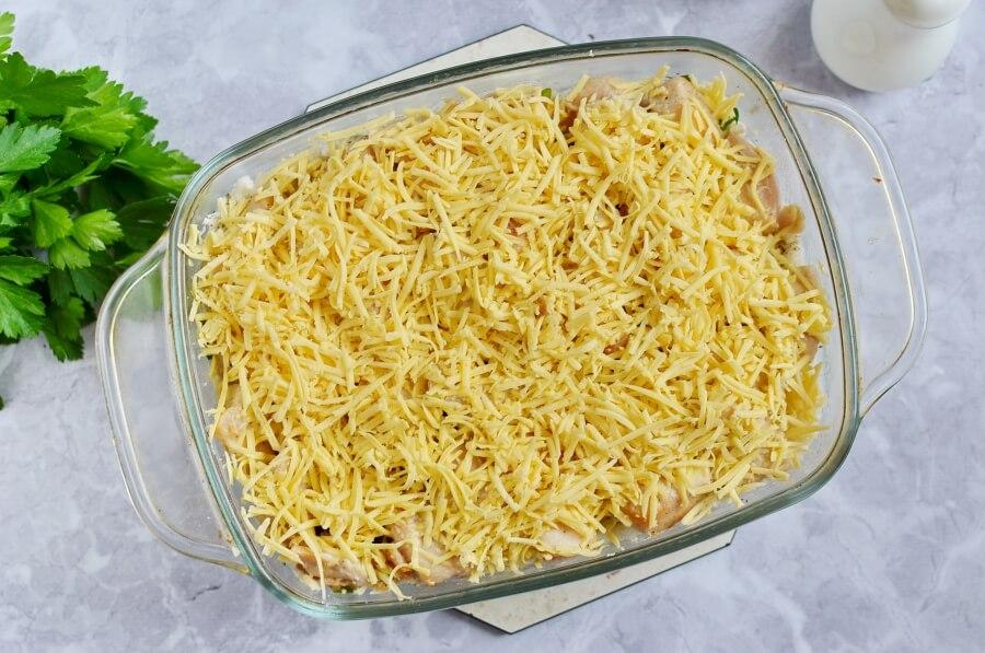 Low Carb Chicken and Cauliflower Casserole recipe - step 8