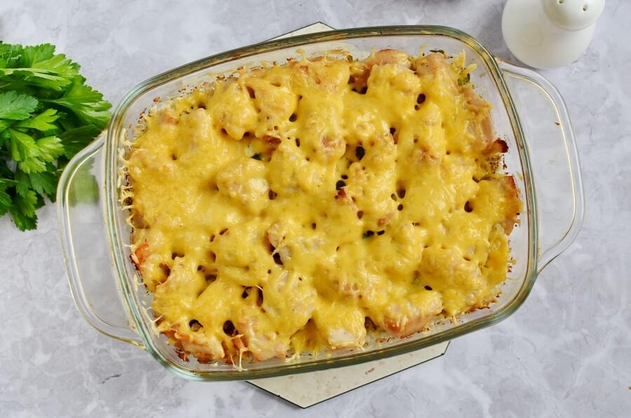 Low Carb Chicken and Cauliflower Casserole recipe - step 9