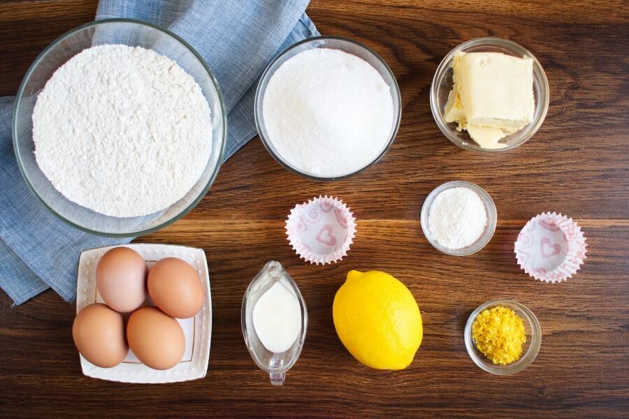 Magdalenas - Spanish Cupcakes Recipe-Magdalenas Recipe Lemony Spanish Cupcakes-Spanish Magdalenas Recipe