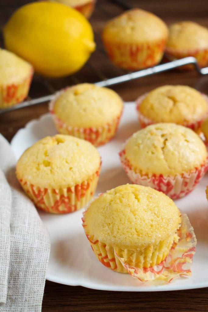 Magdalenas - Spanish Cupcakes Recipes-Spanish Magdalenas Recipe - Delicious Homemade Spanish Cupcakes