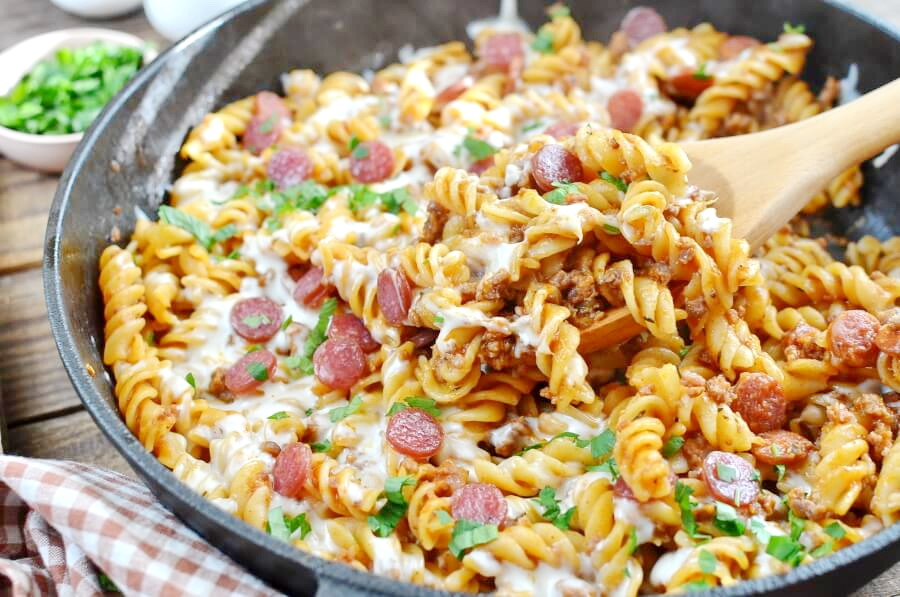 One-Pot-Pizza-Pasta-Bake-Recipe-Delicious-One-Pot-Pizza-Pasta-Bake-How-To-Make-One-Pot-Pizza-Pasta-Bake