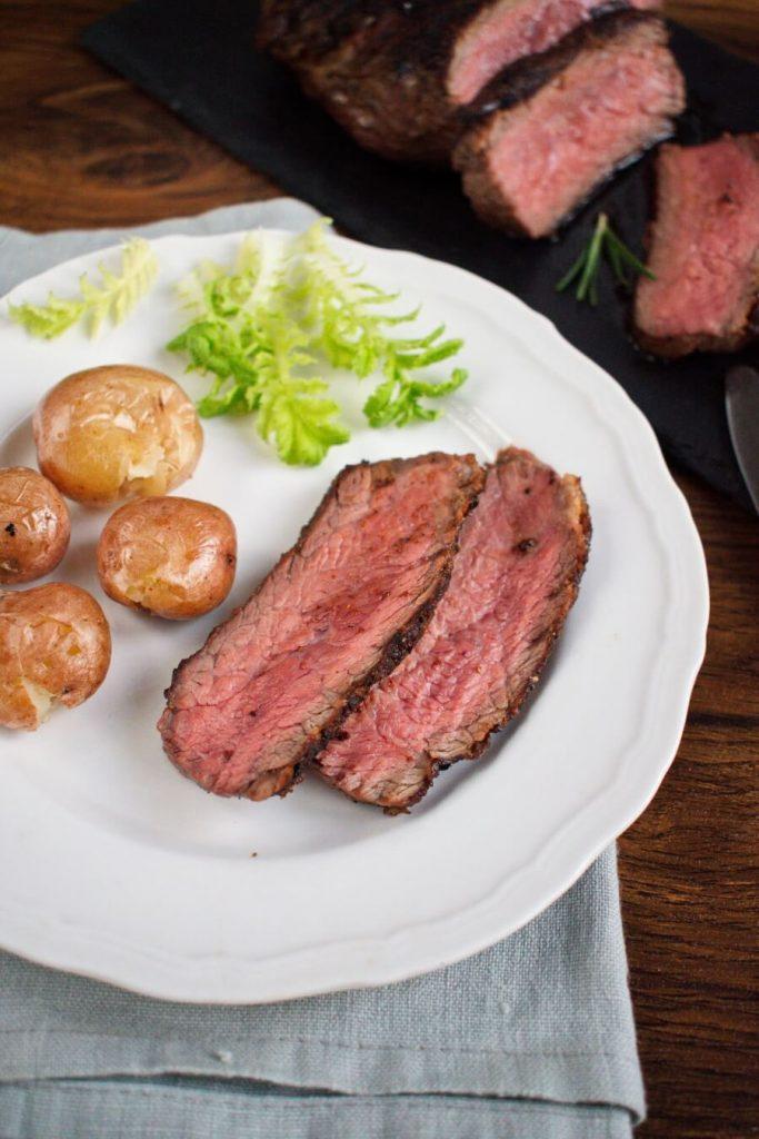Pan-Seared Flat Iron Steak recipe-How to make Flat Iron Steak-The Perfect Steak - Flat Iron Steak