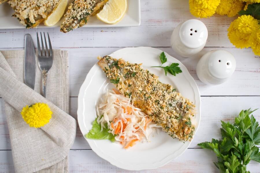 Panko Crusted Oven Fried Haddock Recipe-Baked Panko-Crusted Fish Fillets- Easy Panko Crusted Oven Fried Haddock