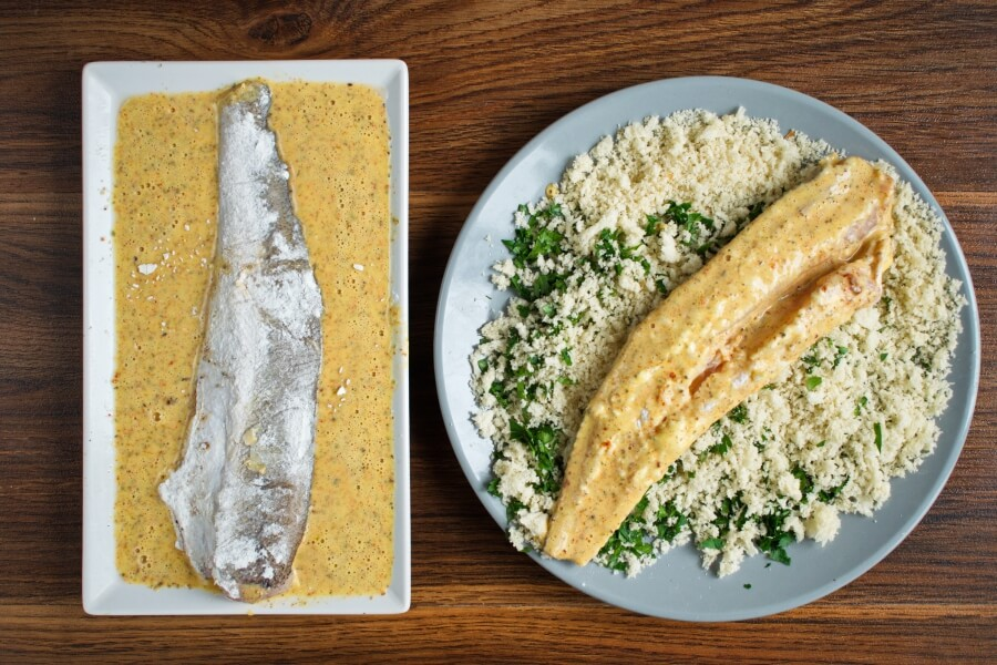 Panko Crusted Oven Fried Haddock recipe - step 6