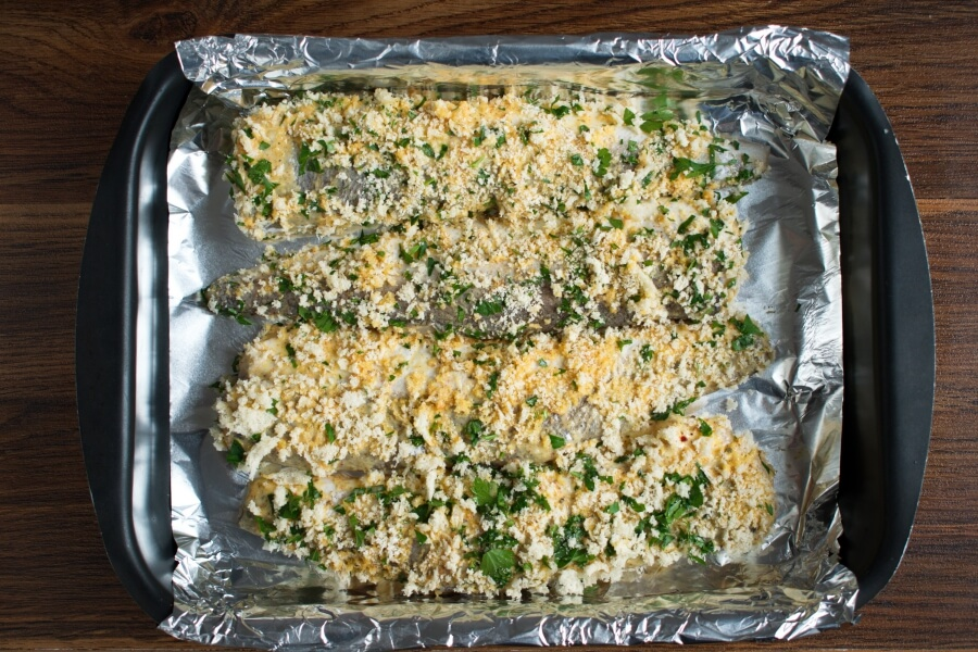 Panko Crusted Oven Fried Haddock recipe - step 7