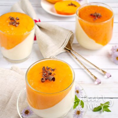 Persimmon panna cotta recipe-How to make Persimmon panna cotta-Delicious Persimmon panna cotta