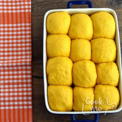 Pumpkin Soft Fluffy Dinner Rolls recipe - step 5