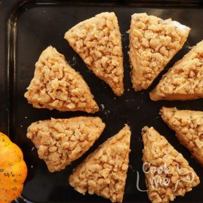 Pumpkin Pecan Scones with Brown Sugar Streusel recipe - step 8