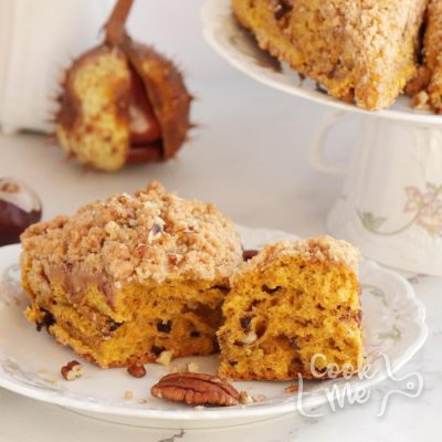 Pumpkin Pecan Scones with Brown Sugar Streusel Recipe-Delicious Pumpkin Pecan Scones-Easy Pumkin Pecan Scones
