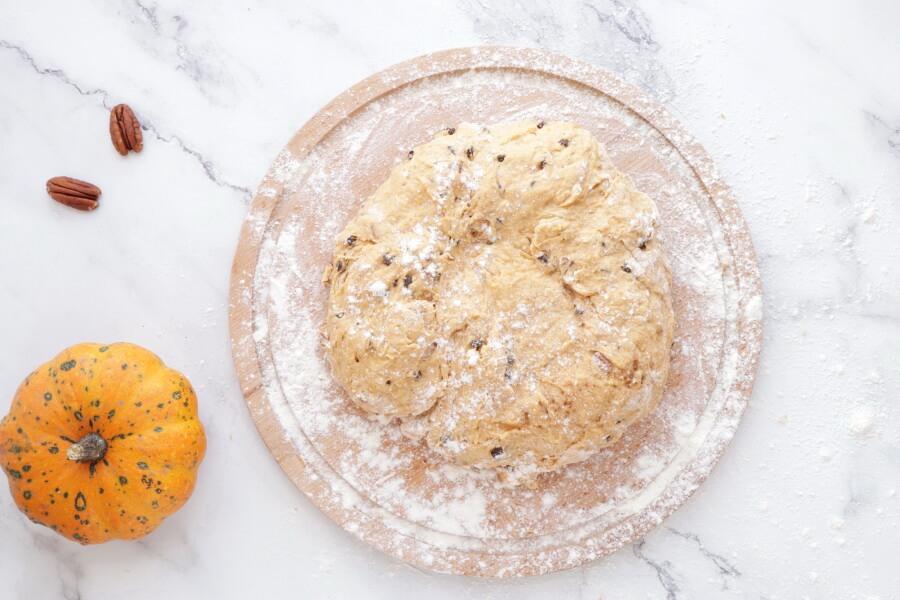 Pumpkin Pecan Scones with Brown Sugar Streusel recipe - step 6