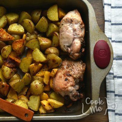 Quick Roast Chicken & Root Vegetables recipe - step 6