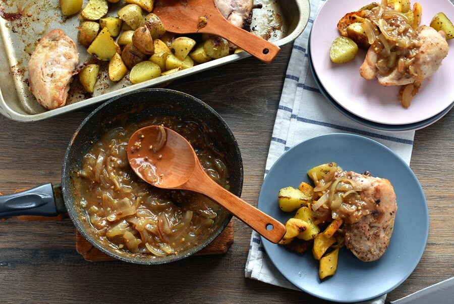 How to serve Quick Roast Chicken & Root Vegetables