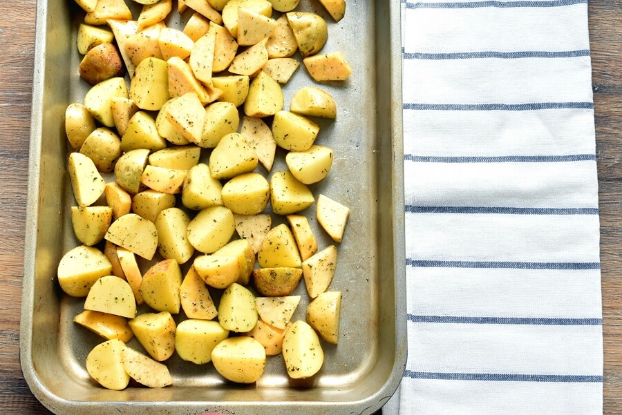 Quick Roast Chicken & Root Vegetables recipe - step 3