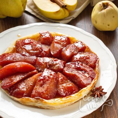 Quince Tarte Tatin Recipe-Spiced Quince Tarte Tatin-How to make Quince Tarte Tatin