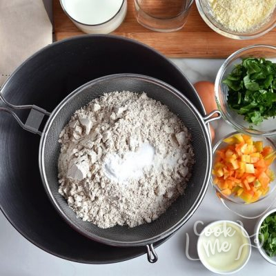 Savory Veggie Waffles recipe - step 1