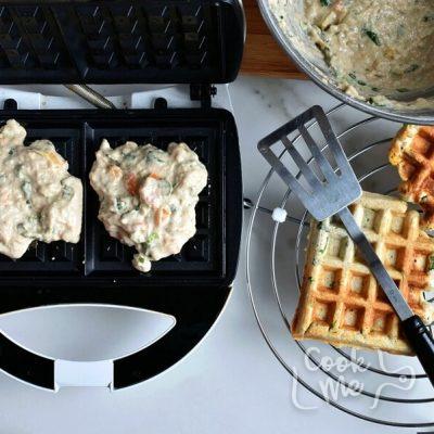 Savory Veggie Waffles recipe - step 6