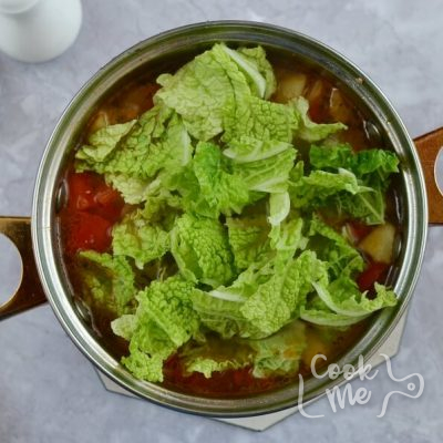 Sweet and Sour Beef Cabbage Stew recipe - step 4