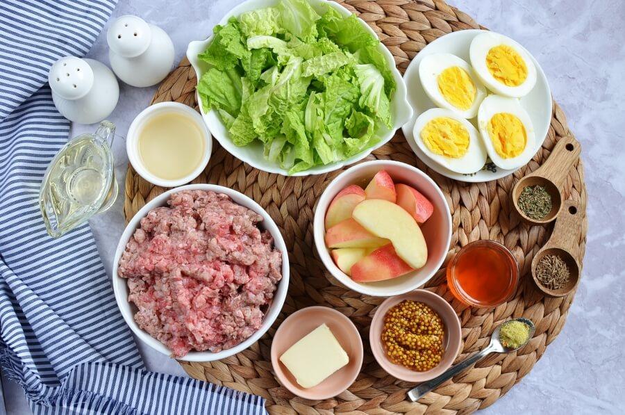 Ingridiens for Thanksgiving Brunch Salad