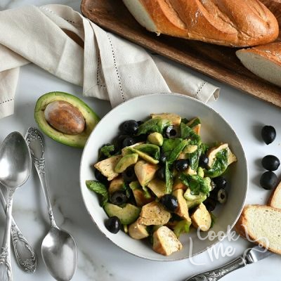 How to serve Low Carb Turkey Burger Salad with Avocado