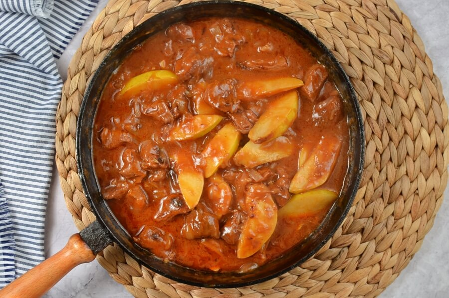 How to serve Beef and Quince Stew