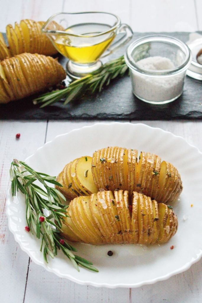 Crispy Potatoes with Infused Oil