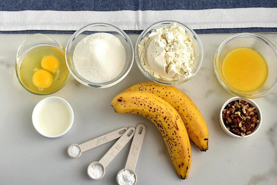 Banana Bread in a Bread Machine Recipe-How To Make Banana Bread in a Bread Machine-Easy Banana Bread in a Bread Machine