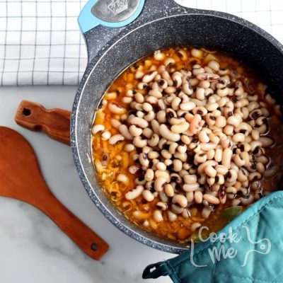 Black Eyed Peas with Bacon and Pork recipe - step 7