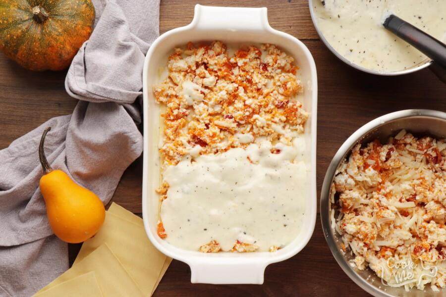 Butternut Squash and Sundried Tomato White Lasagna recipe - step 11