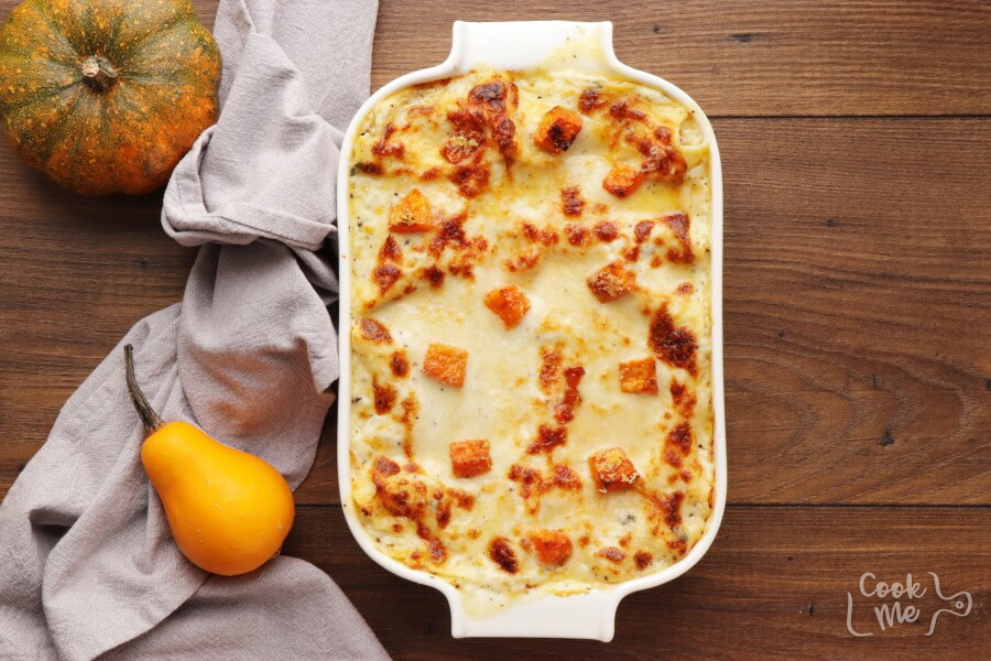 Butternut Squash and Sundried Tomato White Lasagna recipe - step 13