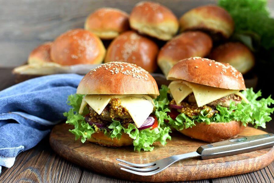 Buttery Brioche Hamburger Buns Recipe-How To Make Buttery Brioche Hamburger Buns-Delicious Buttery Brioche Hamburger Buns