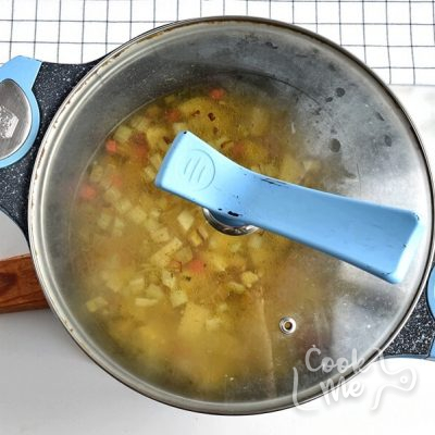 Cheesy Ground Beef Soup recipe - step 2
