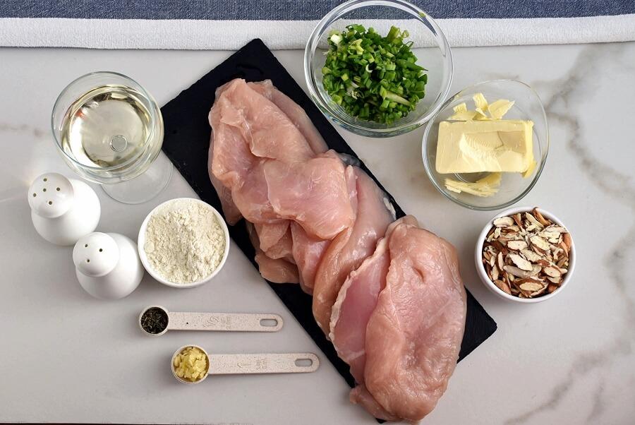Chicken Almondine Recipes-How To Make Chicken Almondine-Delicious Chicken Almondine