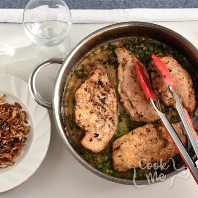 Chicken Almondine recipe - step 6