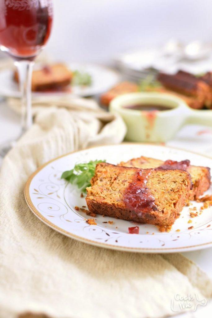 Chickpea Veggie Loaf