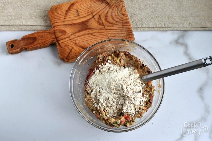 Chickpea Veggie Loaf recipe - step 6