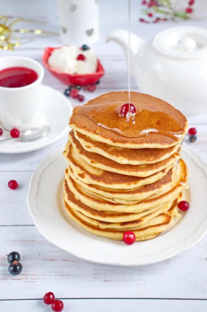 Cracker Barrel-Style Pancakes
