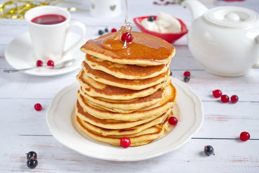 Cracker Barrel-Style Pancakes Recipe - Cook.me Recipes