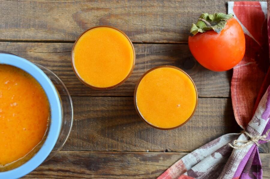Vegan Creamy Persimmon Sorbet recipe - step 2